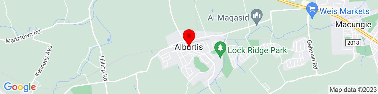 Google Map of 40.5109298, -75.6029654
