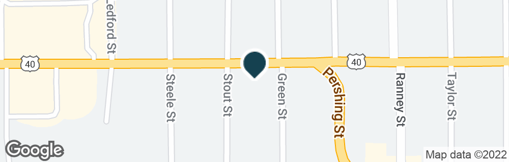 Google Map of750 W VICTORY WAY