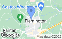 Map of Flemington, NJ