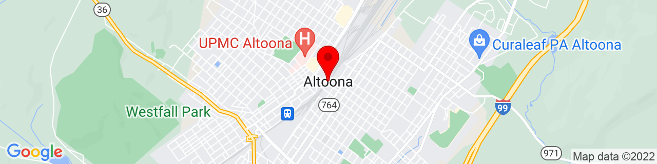 Google Map of 40.5186809, -78.3947359