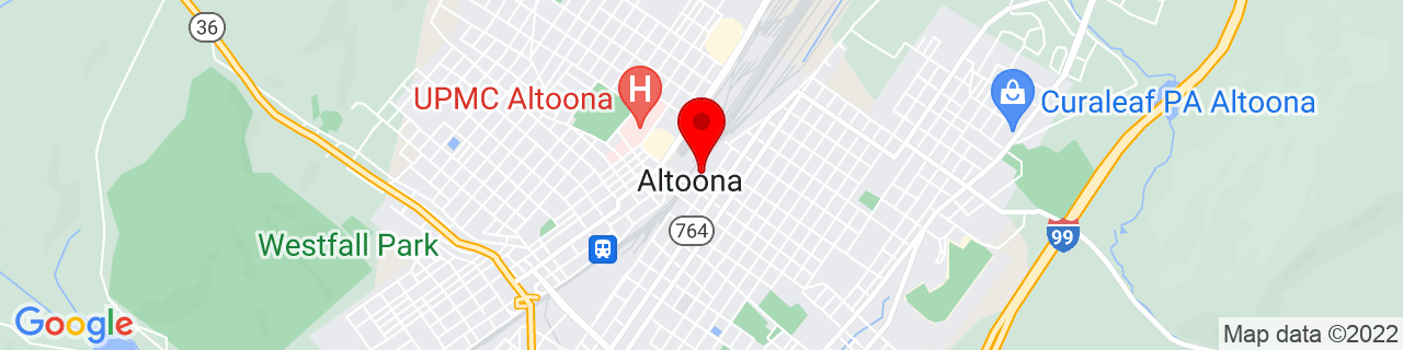 Google Map of 40.5190546, -78.3938122