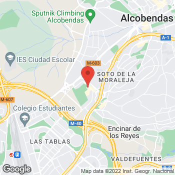 Map of Tony Roma's at Av. de Europa, 10 Centro Comercial Moraleja Green, 28100 Alcobendas, Madrid, Spain, Alcobendas, Madrid 28100