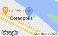 Map of Coraopolis, PA
