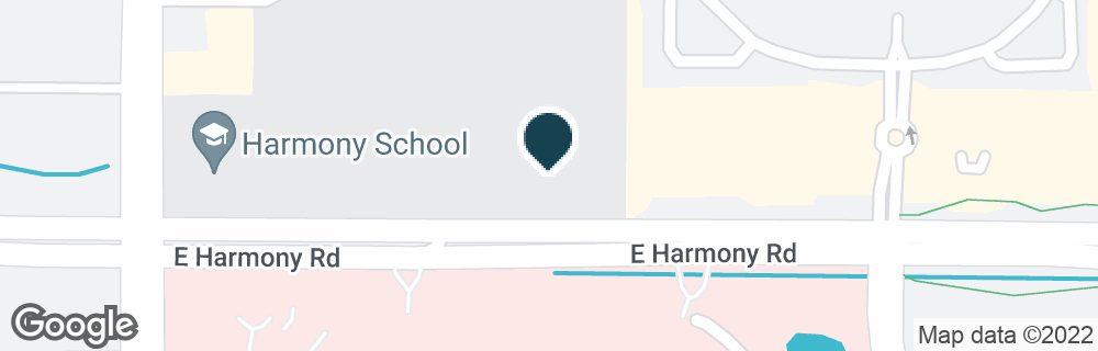 Google Map of2268 E HARMONY RD