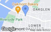 Map of Oakmont, PA