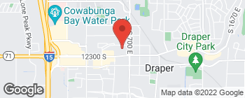 Map of 668 E 12225 S in Draper