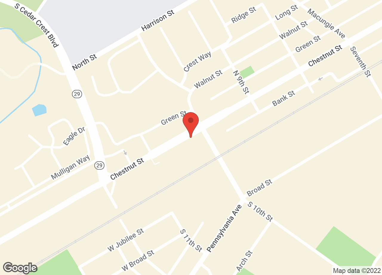 Google Map of VCA East Penn Animal Hospital