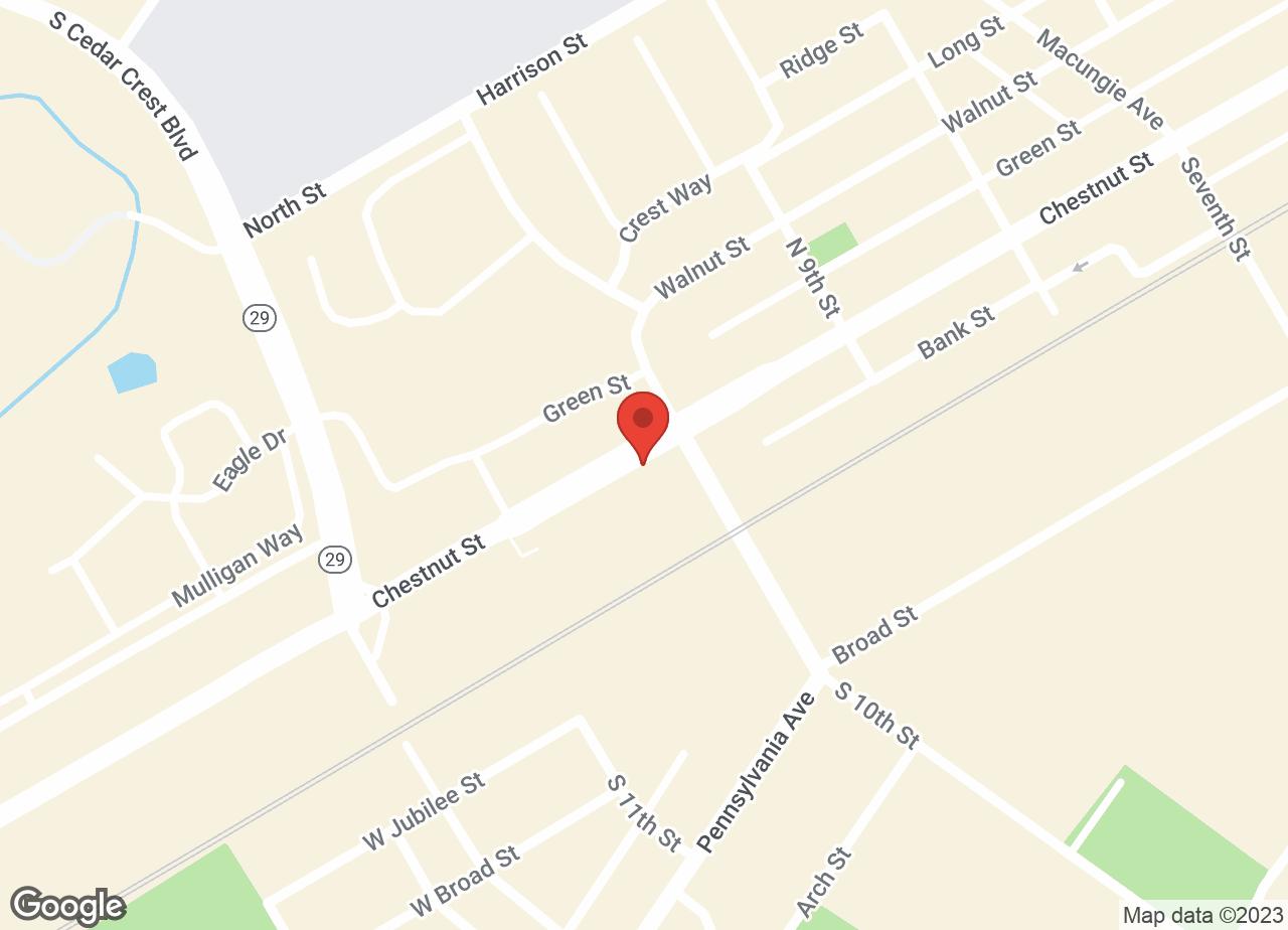 Google Map of VCA East Penn Animal Hospital