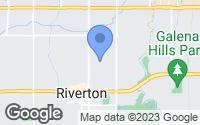 Map of Riverton, UT