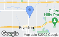 Map of Riverton, UT