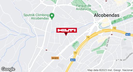 Obtener indicaciones para Tienda Hilti-Madrid (Alcobendas)