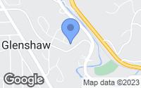 Map of Glenshaw, PA