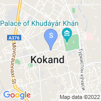 Location of Khan on map