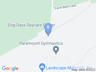 Map of Dog Days Daycare Center Dog Boarding options in Hillsborough | Boarding