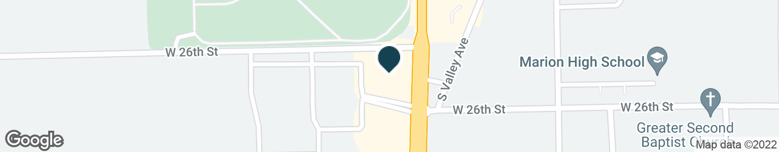 Google Map of2620 S WESTERN AVE