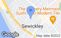 Map of Sewickley, PA