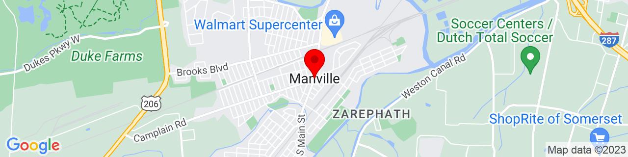 Google Map of 40.5409367, -74.5876569