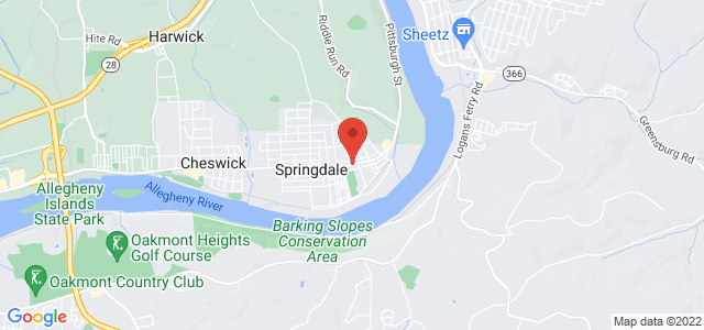 Springdale Floral & Gift Shop Map
