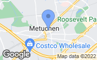 Map of Metuchen, NJ
