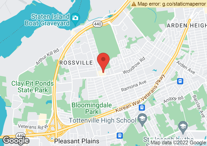 Google Map of 655 ROSSVILLE AVE