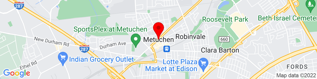 Google Map of 40.5431598, -74.3632049