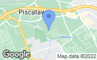 Map of Piscataway, NJ