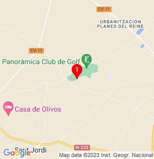 Google Map of 40.5462733, 0.3634759999999915