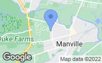 Map of Manville, NJ