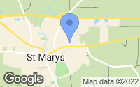 Map of Saint Marys, OH