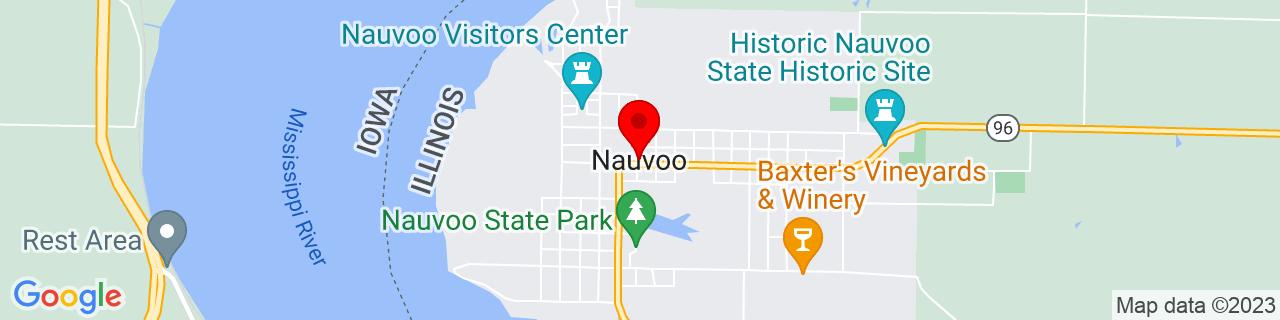 Google Map of 40.550042, -91.3848749
