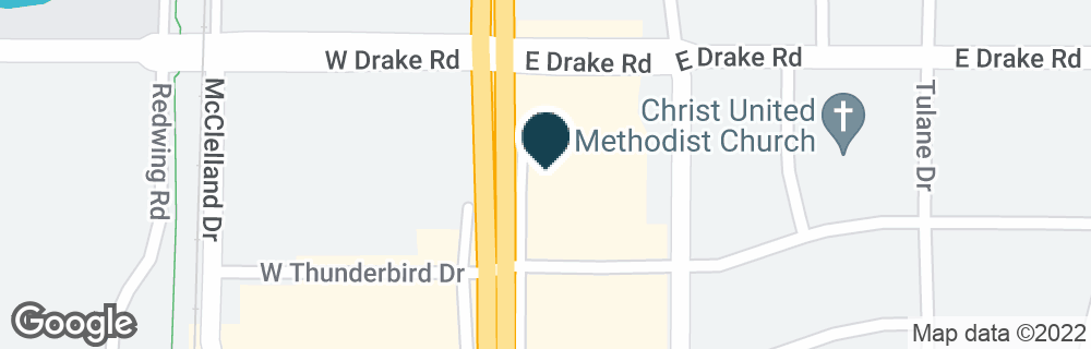 Google Map of2614 S COLLEGE AVE