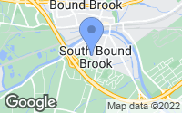 Map of South Bound Brook, NJ