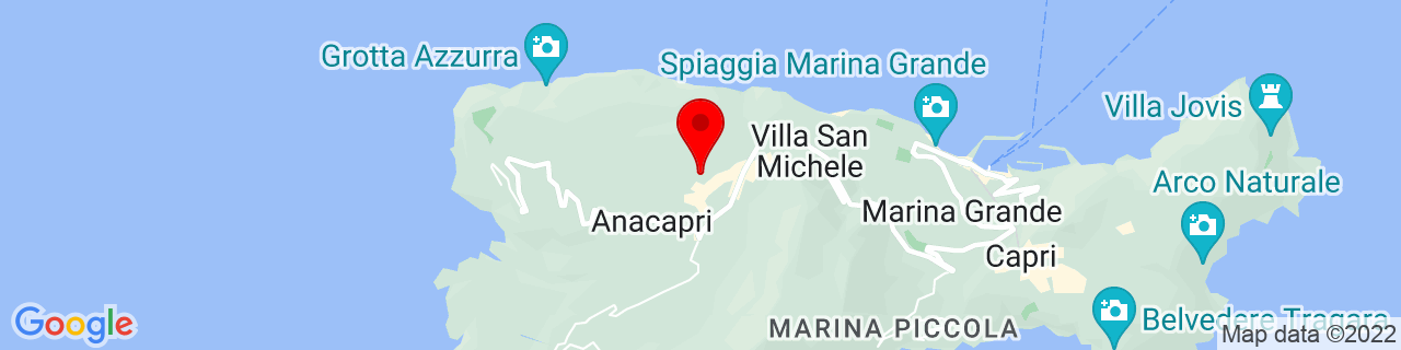 Google Map of 40.55554790286311, 14.217681884765625