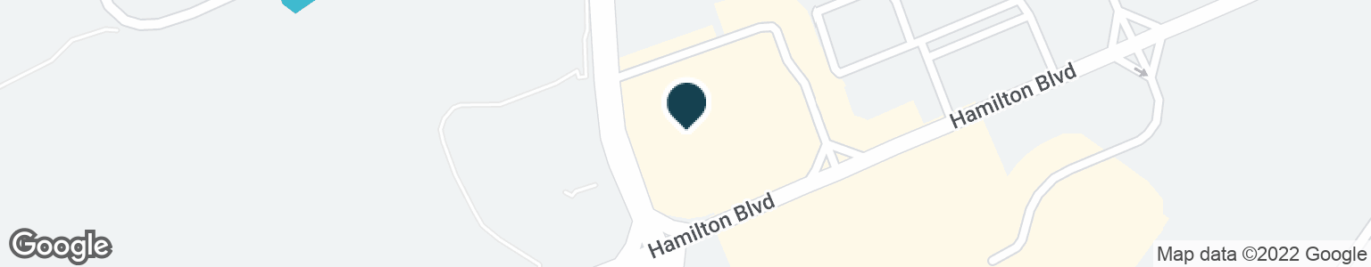 Google Map of6379 HAMILTON BLVD