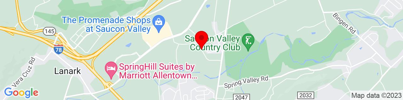 Google Map of 40.556376, -75.399208