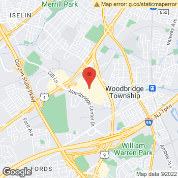 Map of American Eagle Store at 119 Woodbridge Center Dr, Woodbridge, NJ 07095