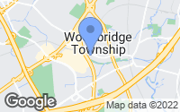 Map of Woodbridge Township, NJ