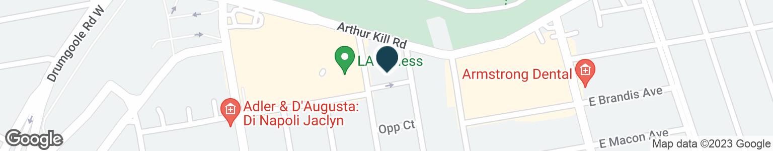 Google Map of758 ARTHUR KILL RD