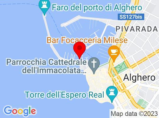 Google Map of Alghero