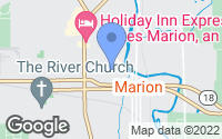 Map of Marion, IN