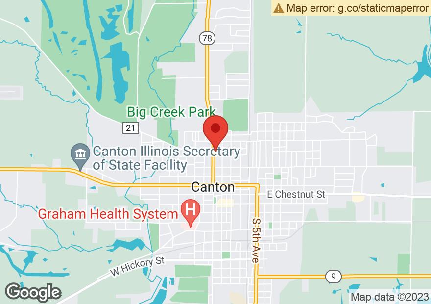 Google Map of 555 N MAIN ST