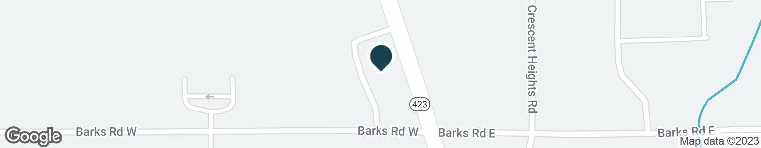 Google Map of1321 DELAWARE AVE