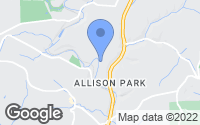 Map of Allison Park, PA