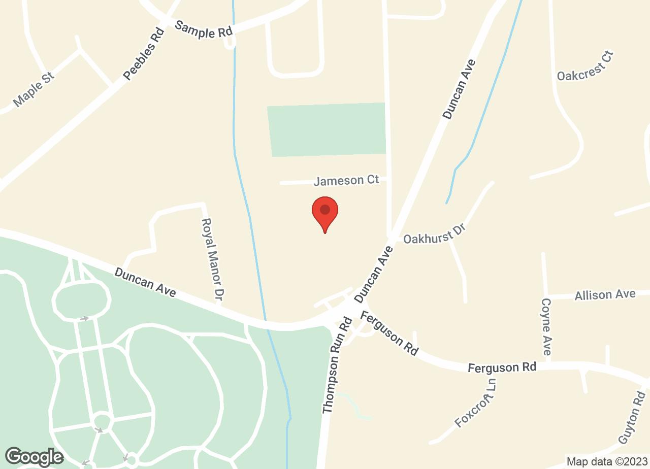 Google Map of VCA Duncan Manor Animal Hospital