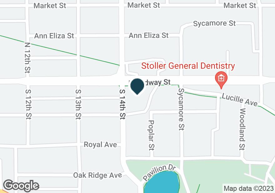 Google Map of1400 BROADWAY ST
