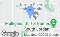 Map of South Jordan, UT