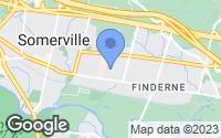 Map of Somerville, NJ