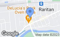 Map of Raritan, NJ