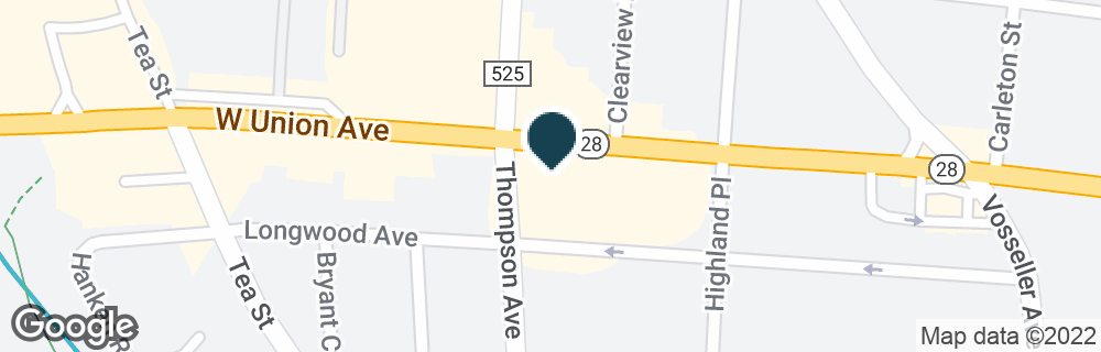 Google Map of476 W UNION AVE