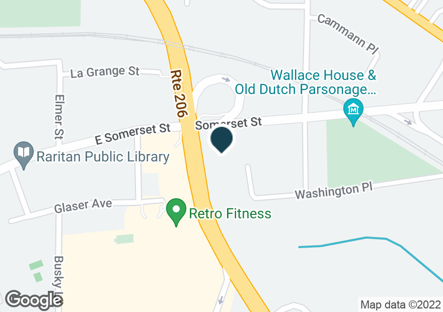 Google Map of129 SOMERSET ST